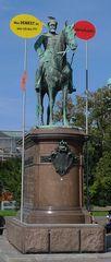 Reiterstandbild - Standbild, Reiterstandbild, Reiterfigur, Statue, Figur, Kunst