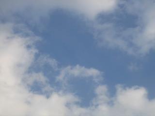 Wolken - Wolken, Himmel, weiß, blau, Wetter, Luft, Atmosphäre, Schreibanlass