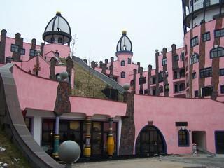 Hundertwasserhaus Magdeburg - Hundertwasserhaus, Hundertwasser, Gebäude, Architektur, Grüne Zitadelle