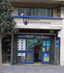 Kiosk Losverkauf in Spanien - loterías, estado, Los, Losverkauf, apuestas, quiosco, billete de lotería
