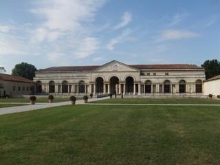 Palazzo del Te in Mantua - Mantua, Italien, Palast, Lustschloss, Renaissance, Romano, Gonzaga, Architektur, Villa Suburbana