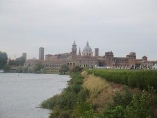 Mantua - Mantua, Italien, Lombardei, Renaissance, Gonzaga, Panorama, Skyline