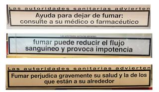 Fumar #3 - Zigaretten, rauchen, gefährlich, Gefahr, Hinweis, Gesundheit, Gesundheitsgefährdung, Warnung, salud, fumar, matar, autoridades, sanitarias, cigarillos