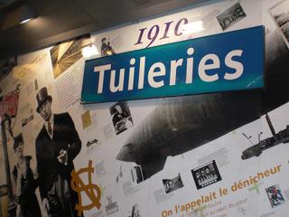 Métro Tuileries - Paris, civilisation, métro, Station, Tuileries, patrimoine, 1910