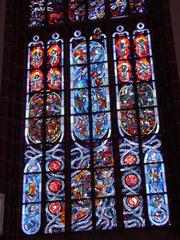 Oppenheimer Kirche #5 - Glaskunst, Kirchenfenster, bunt, Oppenheim, Kirche, Glasfenster, Bleiverglasung, modern