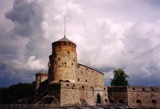 Burg Olavinlinna - Finnland, Burg, Opernfestspiele, Turm, Kegel