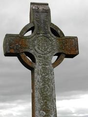 Irland - Kreuz - Irland, Kreuz, Kelten, Friedhof, Grab, Steinkreuz, Radkreuz, Mittelalter, Keltenkreuz, keltisches Kreuz, irisches Kreuz, Hochkreuz
