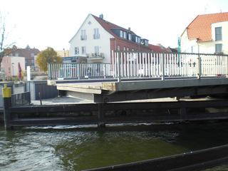 Drehbrücke Malchow#4 - Drehbrücke, Malchow, Architektur, Brücken, technisches Denkmal