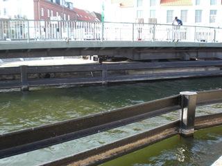 Drehbrücke Malchow#7 - Drehbrücke, Malchow, Architektur, Brücken, technisches Denkmal