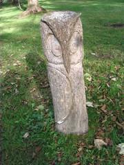 Skulpturenweg #2 - Skulpturenweg, Holzskulptur, Skulptur, Tier, Eule, Kunst, Holz, Schnitzhandwerk, Bildhauerei