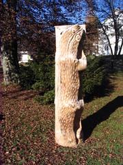 Skulpturenweg #4 - Skulpturenweg, Holzskulptur, Skulptur, Kunst, Holz, Schnitzhandwerk, Bildhauerei