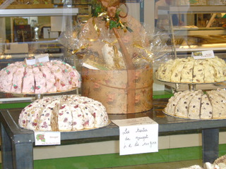 Tarte de nougat - Frankreich, civilisation, nougat, tarte, Nougattorte, spécialité, essen, gourmand, gourmandise, Torte, süß, Spezialität, Kakao