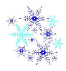 Schneeflocken#1 - Schneeflocken, Winter, winterlich, Schnee, kalt, Eis, Schneeflocke, Schneekristalle, Eiskristalle, Grafik, Schneestern, Schneesterne, Eiskristall, Schneekristall