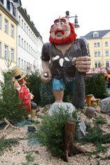 Das tapfere Schneiderlein#1 - Schneider, klug, sieben, 7, Riese, Gera, Märchenmarkt, Markt, Weihnachtsmarkt, Märchen, Märchenfiguren, Grimm, Brüder Grimm