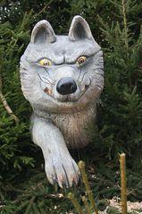 der böse Wolf aus Rotkäppchen#1 - Rotkäppchen, Wolf, Wald, Märchen, Märchenfiguren, Grimm, Brüder Grimm, Gera, Weihnachtsmarkt, Märchenmarkt, Markt