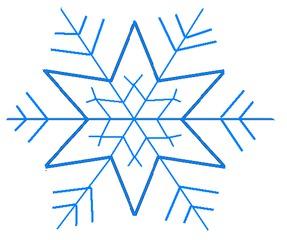 Schneestern#2 - Schneeflocke, Schneekristalle, Eiskristalle, Schneestern, schneien, Winter, winterlich, Schnee, kalt, Eis, Grafik, Einzahl, Singular, Eiskristall, Schneekristall