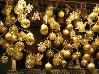 Christbaumkugeln - Kugeln, Christbaumkugeln, Baumschmuck, Schmuck, Weihnachten, Weihnachtskugeln, Advent, Adventmarkt, glitzern, glänzen, Gold, Deko, Weihnachtsdeko