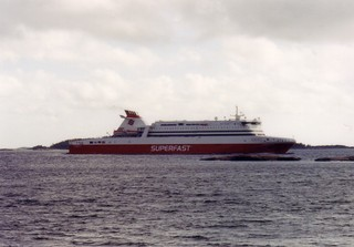 Fährschiff - Transport, Verkehr, Verkehrsmittel, Wasserverkehrsmittel, Fähre, Fährschiff, Schiff, Meer