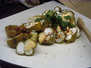 Gefüllte Paprika - Paprika, gefüllte Paprika, Vorspeise, Antipasti, Antipasto