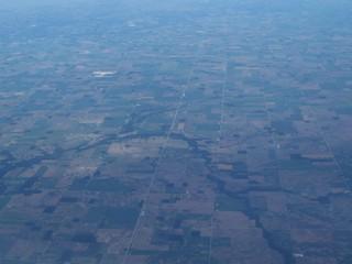 USA von Oben - USA, Indiana, Straßenführung, Luftbild, Luftaufnahme, Vogelperpektive