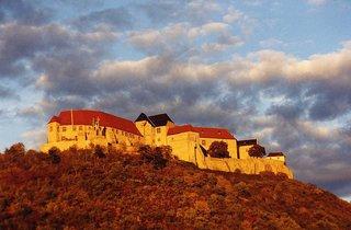 Schloss Neuenburg bei Freyburg an der Unstrut - Burg, Schloss, Abendsonne, Schloss Neuenburg, Freyburg Unstrut, Mittelalter