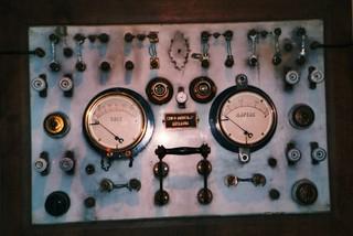 Spannung/Stromstärke - Spannung, Stromstärke, Elektrizität, Physik, Messgerät, Skala, Voltmeter, Amperemeter, Sicherung