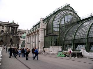 Palmenhaus-Wien - Wien, Österreich, Kaiser, Palmenhaus, Ringstraße, Jahrhundertwende, Monarchie, Jugendstil, Architektur, Gebäude