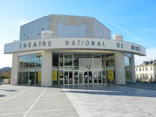 Théâtre National de Nice - Frankreich, Nizza, Nice, Theater, théâtre, französisch, Gebäude, Haupteingang