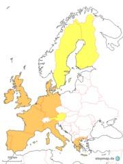 Europa 1995 - Finnland, Österreich, Schweden, Spanien, Portugal, Griechenland, Dänemark, Irland, Großbritannien, UK, Belgien, Deutschland, Frankreich, Italien, Luxemburg, Niederlande, Mitgliedstaaten, Gründerstaaten, Europa, Mitteleuropa, europäisch, Montanunion, Wirtschaftsverband, Vorläufer, Europäische Gemeinschaft, EGKS, EG, EWG, Europäische Union, EU, Zusammenschluss, Vereinigung, Gemeinschaft, Karte, 1995