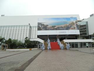 Cannes Palais des Festivals - Frankreich, französisch, Cannes, Côte d'Azur, Filmfestspiele, Filmfestival, Palais des festivals et des Congrès, festival de Cannes, Goldene Palme, palme d'or, Filmpreise, Hauptveranstaltungsort, Haupteingang