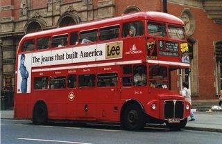 Doppeldeckerbus in London - Bus, Öffentliches Verkehrsmittel, London, Doubledecker Bus, Doppeldeckerbus, Doppeldecker