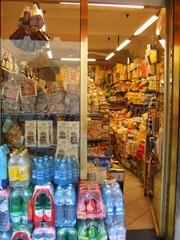 Lebensmittellladen - Alimentari - Lebensmittel, Alimentari, Toskana, Italien, Laden, einkaufen, italienisch