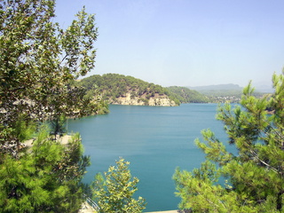 Stausee im Taurusgebirge - Stausee, Türkei, Taurusgebirge, Taurus