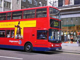 A London double-decker bus - London double-decker bus, Transport, Bus, double-decker, Doppeldecker