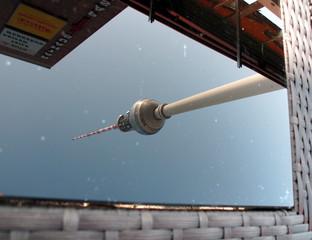 Bildliche Spiegelung Serie 1 von 3 - Foto, Spiegelung, Gebäude, Perspektive, Ansicht, Oberfläche, Glas, Optik, Reflexion, reflektieren, Physik, Kunst