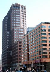 Berliner Architektur - Potsdamer Platz #2 - Ansichten, Blickwinkel, Perspektiven, Architektur, Fluchtpunkt, Haus, Hochhaus, hoch, Kunst, Ecken, Kanten, Fluchten