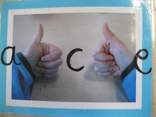 Unterscheidung von b und d - Unterscheidung, b, d, Verwechslung, Buchstaben, Formen, Merkhilfe