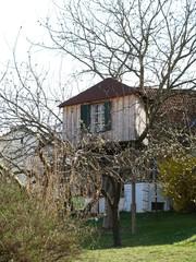 Baumhaus  - Baumhaus, Haus, Spielhaus, Hütte, Ferienhaus, Vermietung, Ferien, Urlaub
