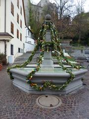 Osterbrunnen - Ostern, Osterbrunnen, Osterbrauch, Osterschmuck, Schmuck, Brauch, Brunnen, schmücken, Ostereier, bunt, Brauchtum