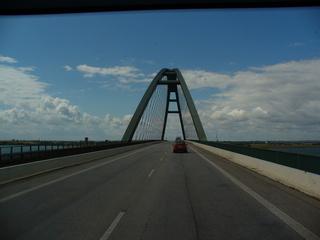 Fehmarn - Fehmarn, Fehmarnsundbrücke, Brücke, Ostsee, Insel, Wolken, Weite, Himmel