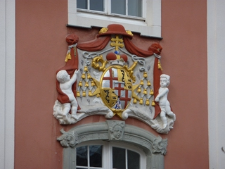Schloss Meersburg#2  - Schloss, Meersburg, Rokoko, Fassade, Wappen