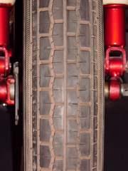 Profil eines Rades - Rad, Reifen, Reifenprofil, Profil, Verkehrssicherheit, Profiltiefe, Reibung, Gummi