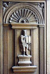 Mose - Mose, Altes Testament, Gebote, Gesetz, Ratskammer, Friedenssaal, Münster, Fensternischen
