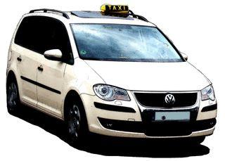 Taxi Zeichnung - Taxi, PKW, Auto, Verkehrsmittel, Individualverkehr, Personenkraftwagen, Kraftwagen, Großraumlimousine, Kompaktvan, Van, Kraftfahrzeug, Fahrzeug, Fünftürer, Personenbeförderung, Personenverkehr, motorisiert, rollen, Dachschild, gelb, Taxi-Farbe