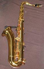 Tenorsaxophon - Tenorsaxophon, Saxophon, Rohrblattinstrument, Messing