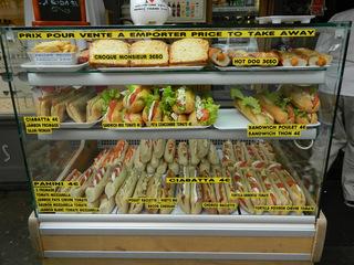 Sandwich & co - Frankreich, civilisation, sandwich, acheter, emporter, manger, repas, Straßenverkauf, prix, Preise