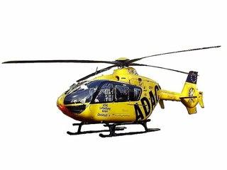 ADAC Hubschrauber Christopher - Hubschrauber, Rettung, Rettungseinsatz, Luftrettung, Sicherheit, fliegen, Helikopter, Rotor, Auftrieb, Physik, Aerodynamik, Rotorblätter