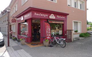 Bäckerei Konditorei - Boulangerie Patisserie - Bäckerei, Konditorei, boulangerie, patisserie, boulanger, patissier, Geschäft, einkaufen
