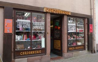 Schusterei - Cordonnerie - Schuster, Schusterei, cordonnerie, cordonnier