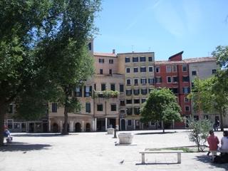 Judenviertel in Venedig - Getto, Ghetto, Venedig, Juden, Judenviertel, Wohnhaus, Platz, Bevölkerung, Hochhaus